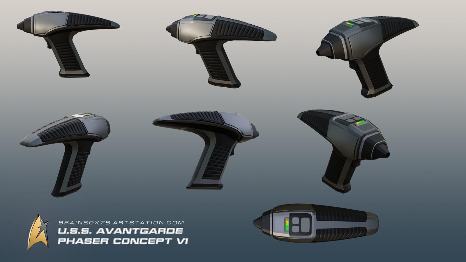 Phaser Concept V1