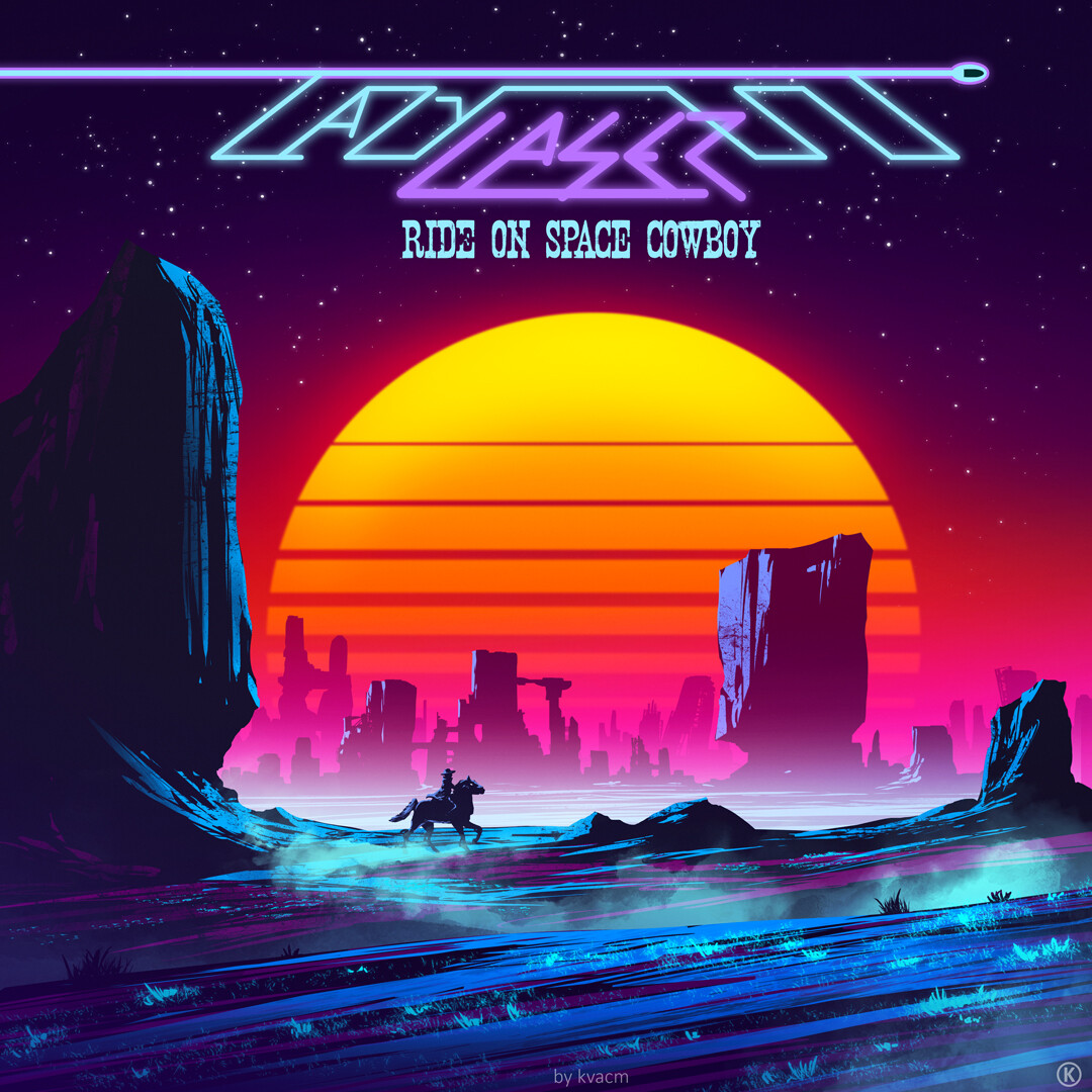 Commission Lazy Laser Album Cover