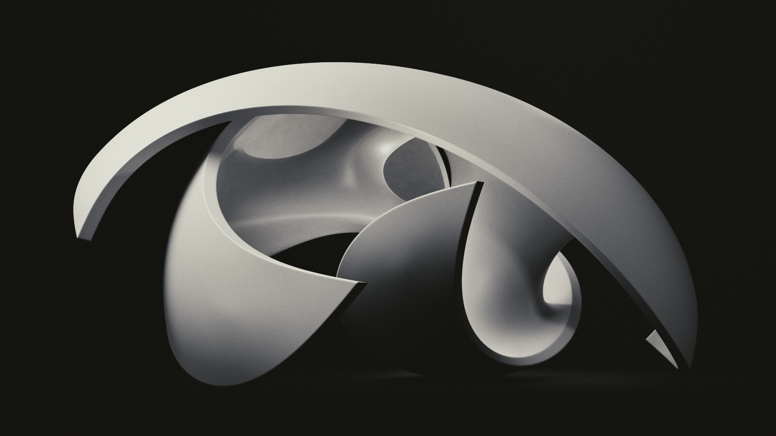 Moonray abstract sculpture