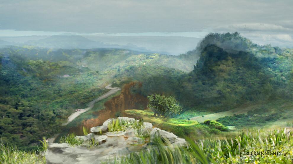 Rough landscape