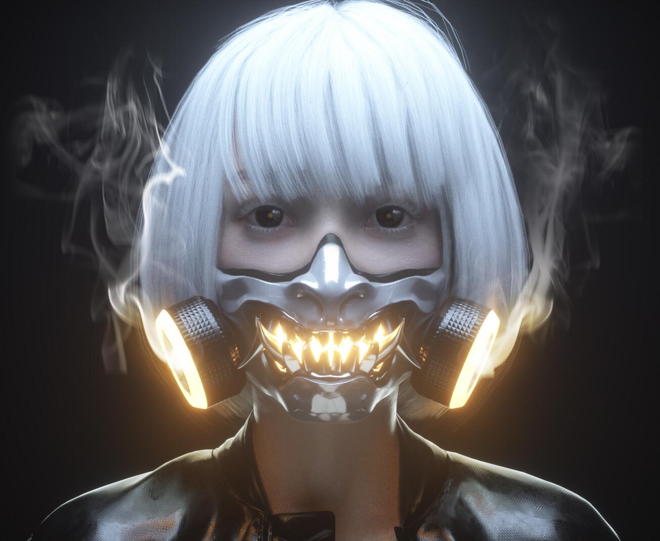 Cyberpunk Mask/Respirator