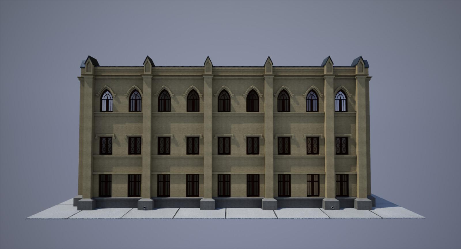 Cranmer Hall- Image Render