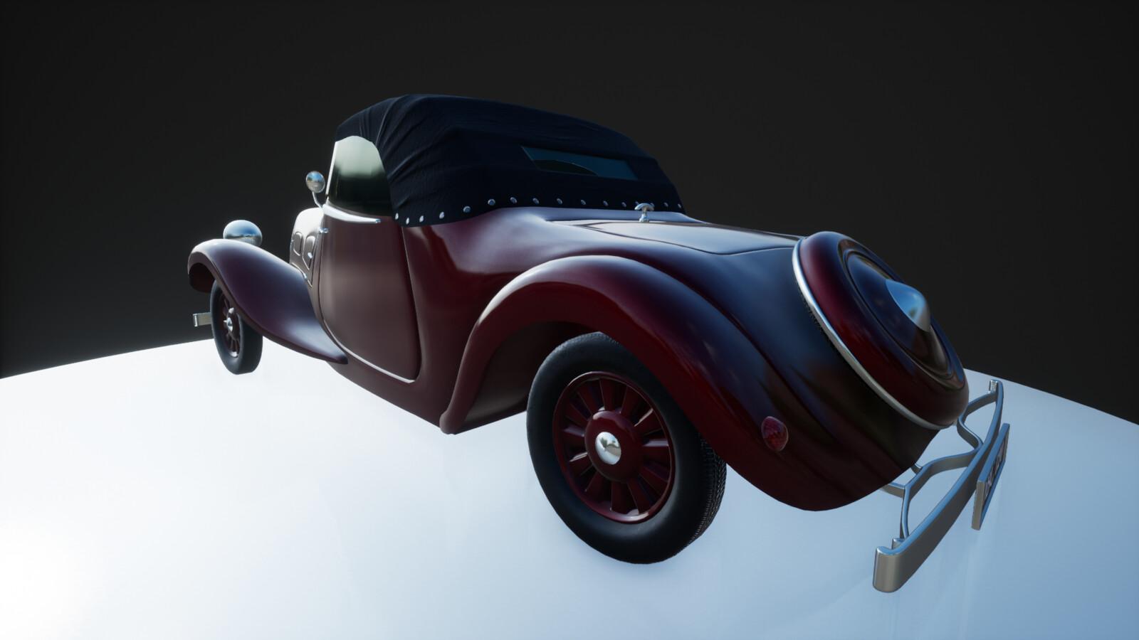 Citroen 1939- Image Render