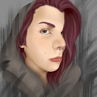 Tristan griffith self portrait