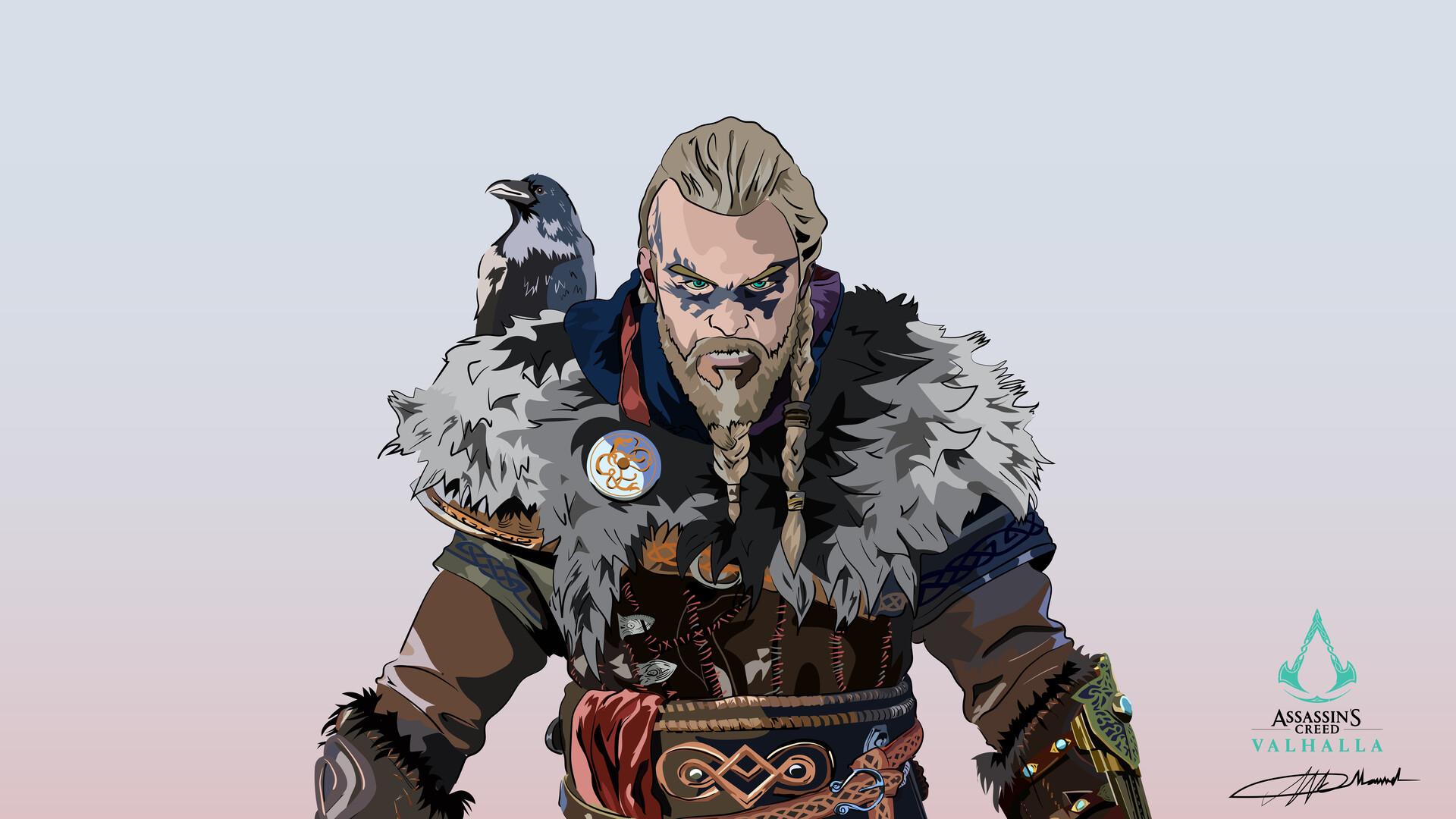 Artstation Assassins Creed Valhalla Eivor Mark Keanu Manuel