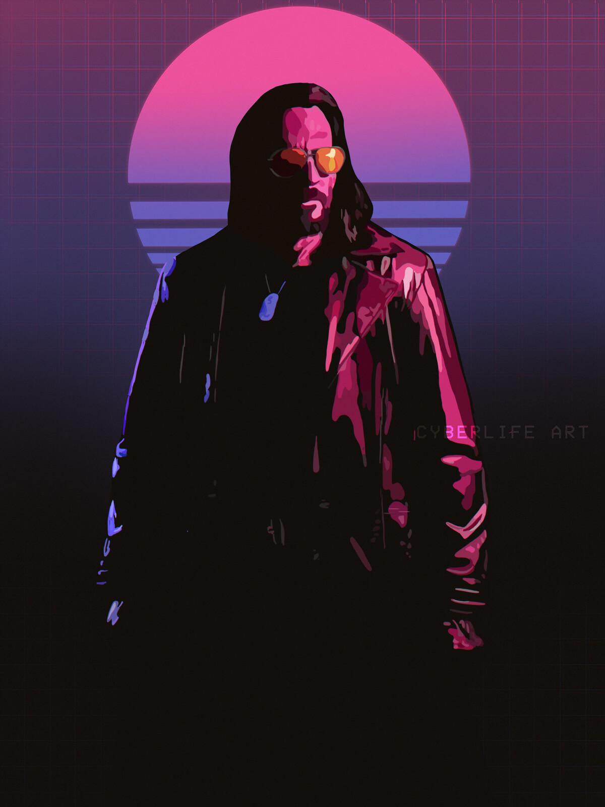 Cyberpunk 2077: Phoenix Program - Teaser Posters