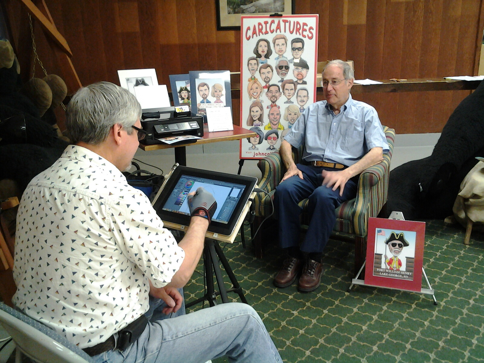 Illustrating Caricatures