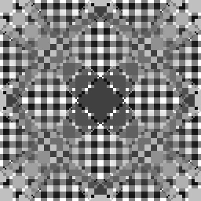 Rabbit klein art pattern greyset svg