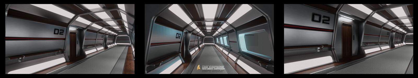 U.S.S. Avantgarde Corridor Concept V4