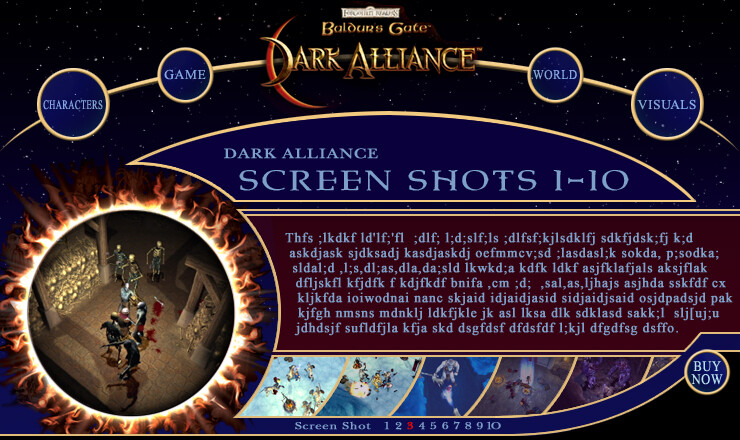 Baldur's Gate Dark Alliance.com