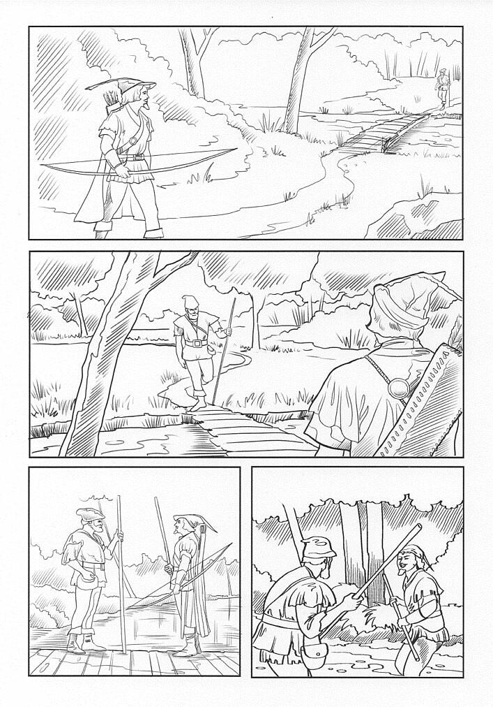 Robin Hood and Little John