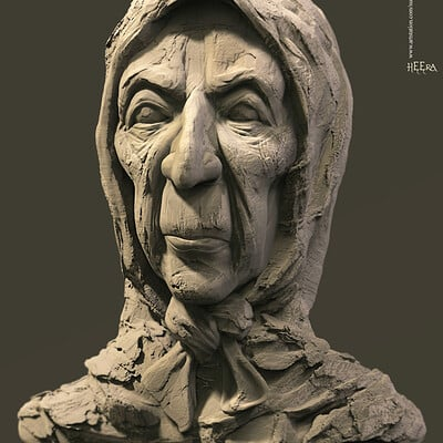 Surajit sen heera digital sculpture surajitsem may2020a