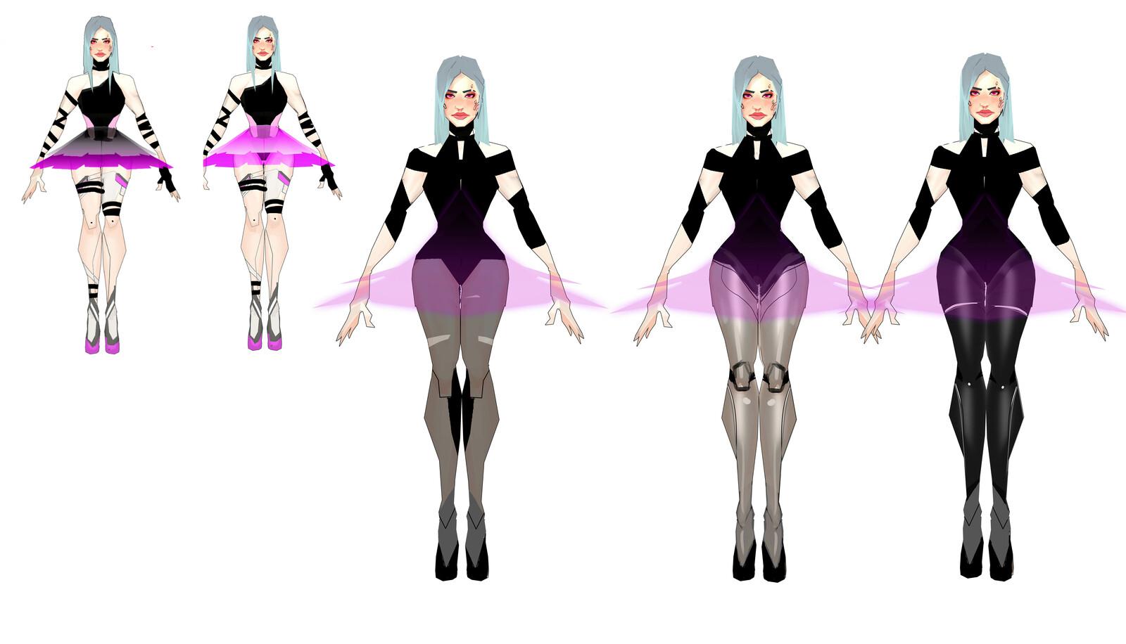Dancer concept art 1