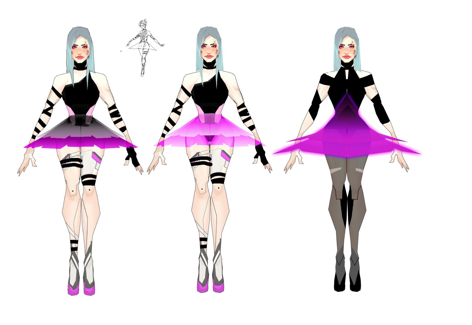 Dancer concept Art 2