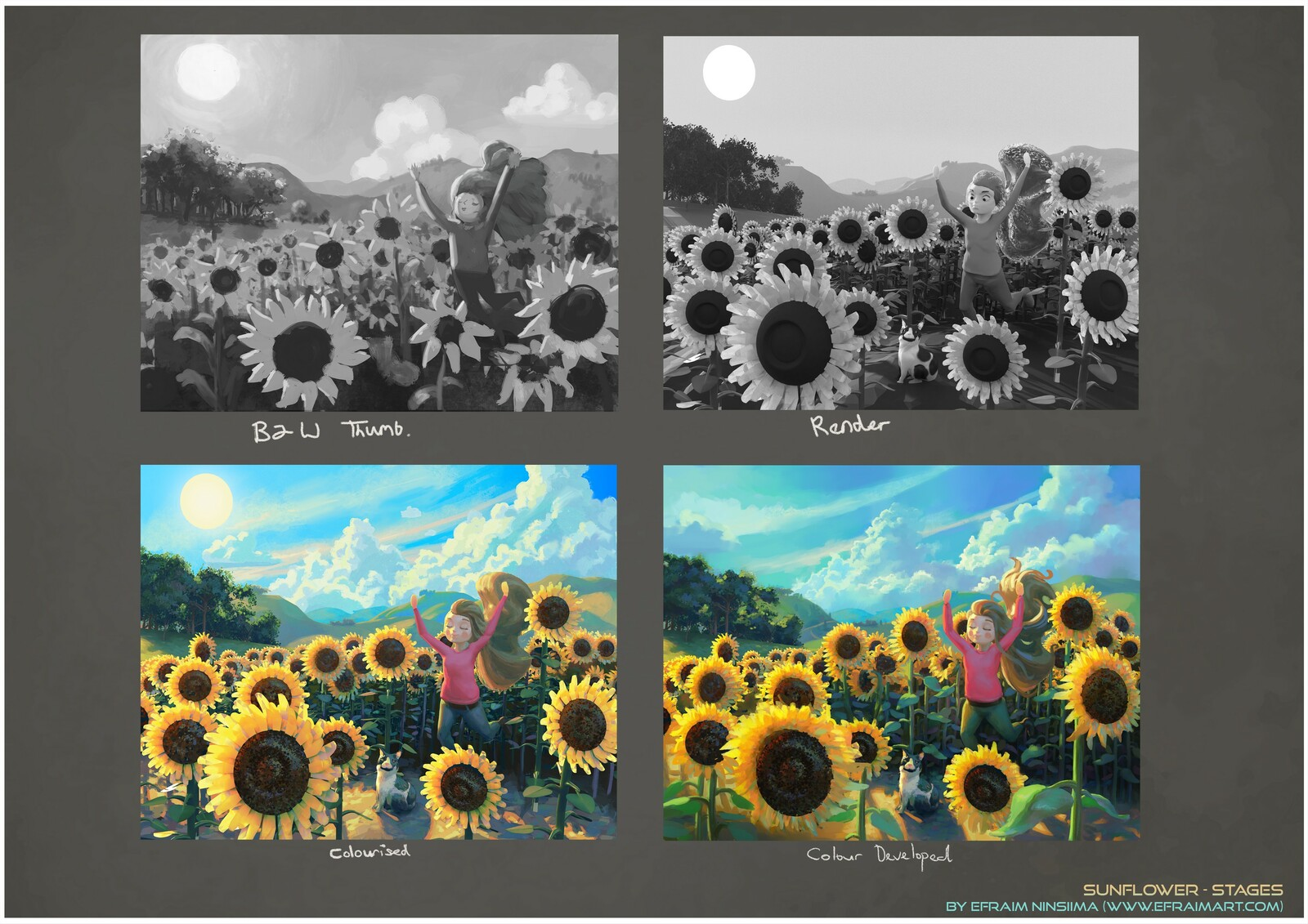 Sunflower - Design Breakdown - Process
