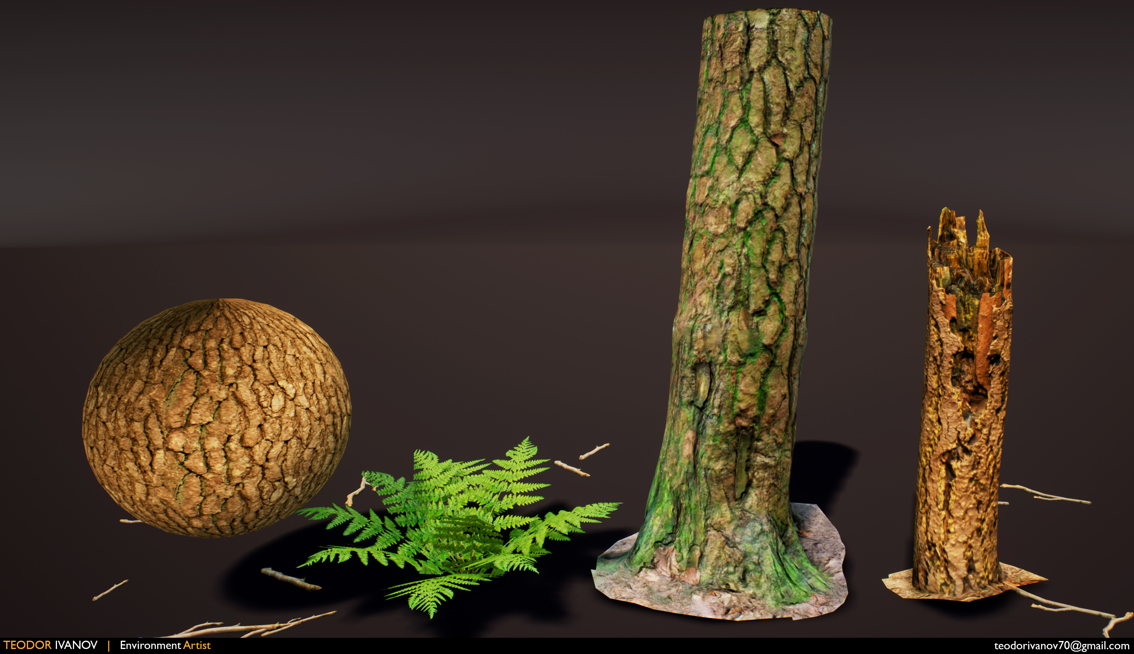Photogrammetry tests.