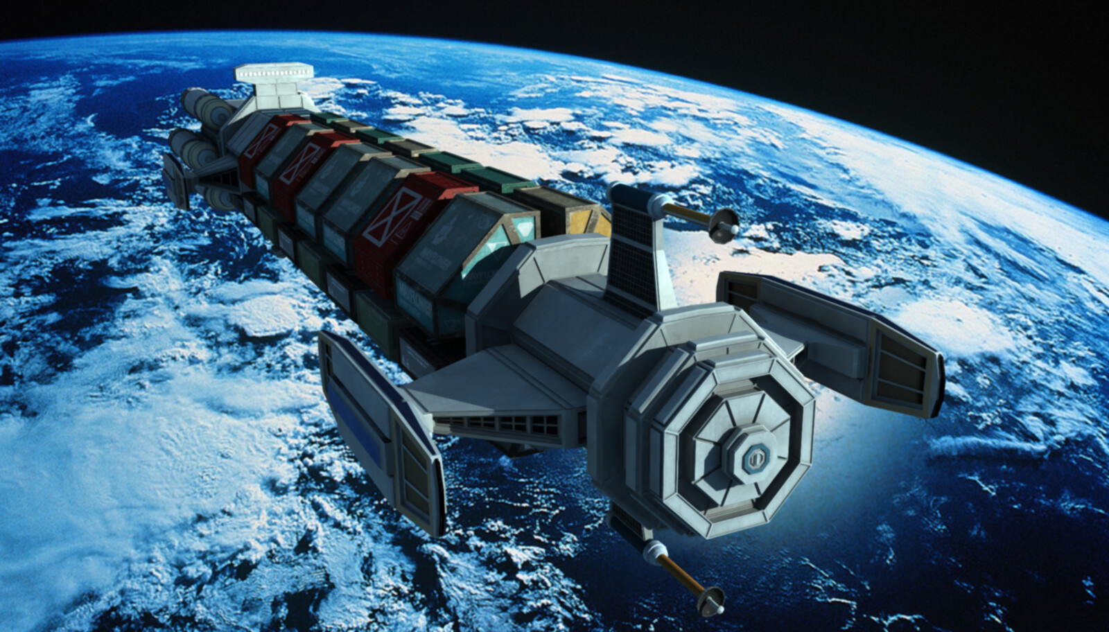 Science Fiction Space Transport -- Unproduced Indie Science Fiction Film