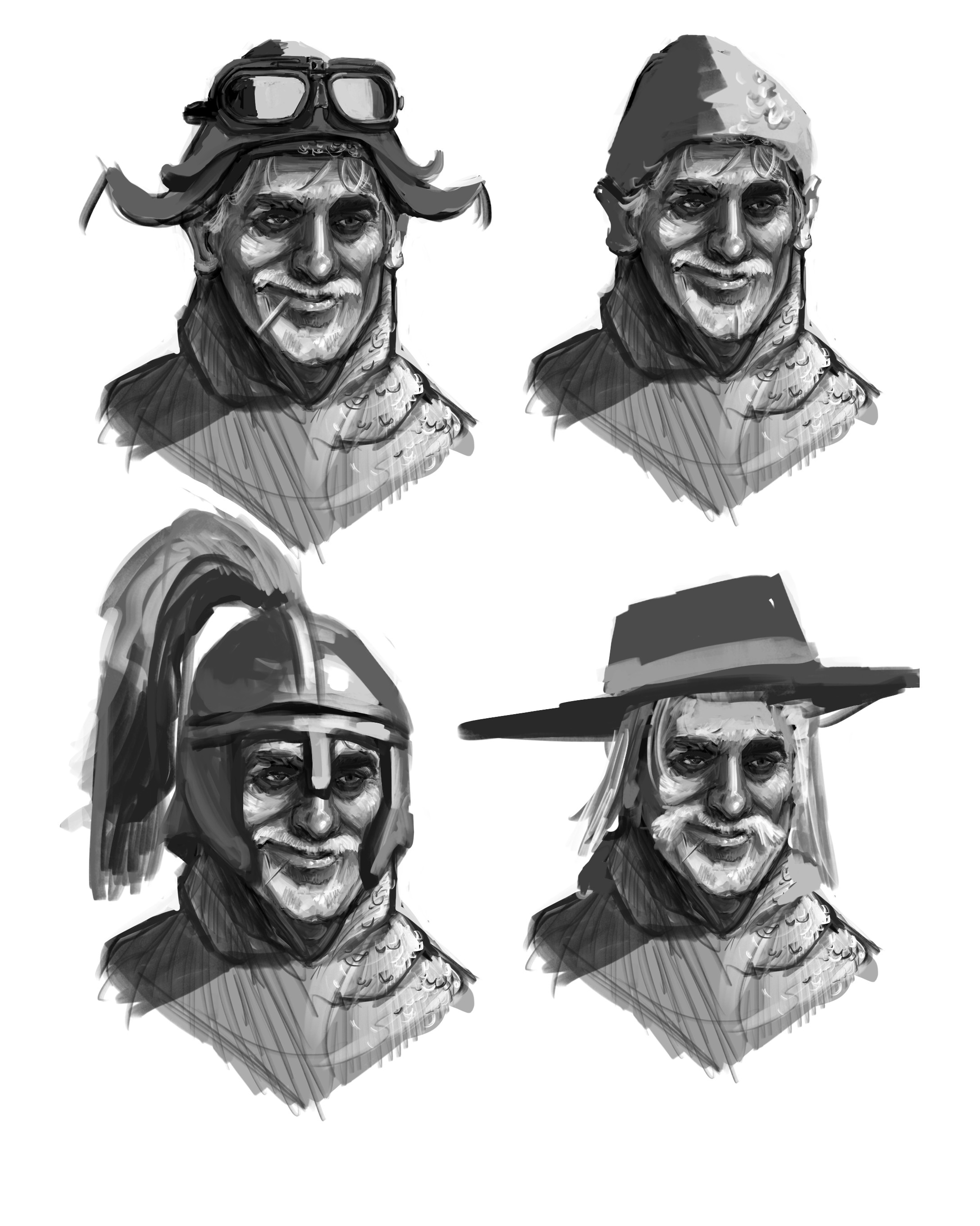 Different hat options