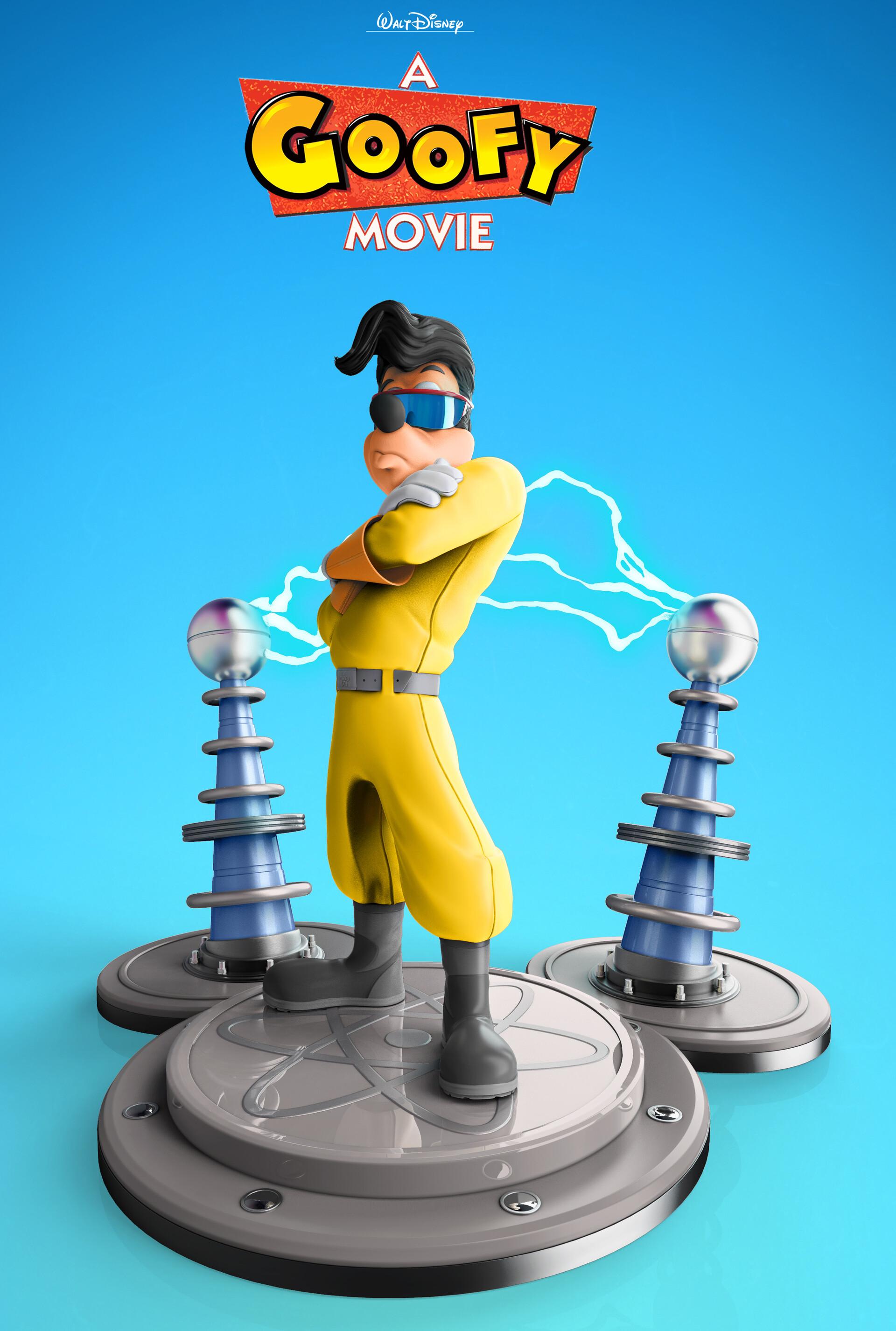 Artstation Max Goof A Goofy Movie Nabil Zakher