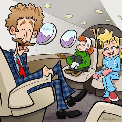 Steve rampton plane