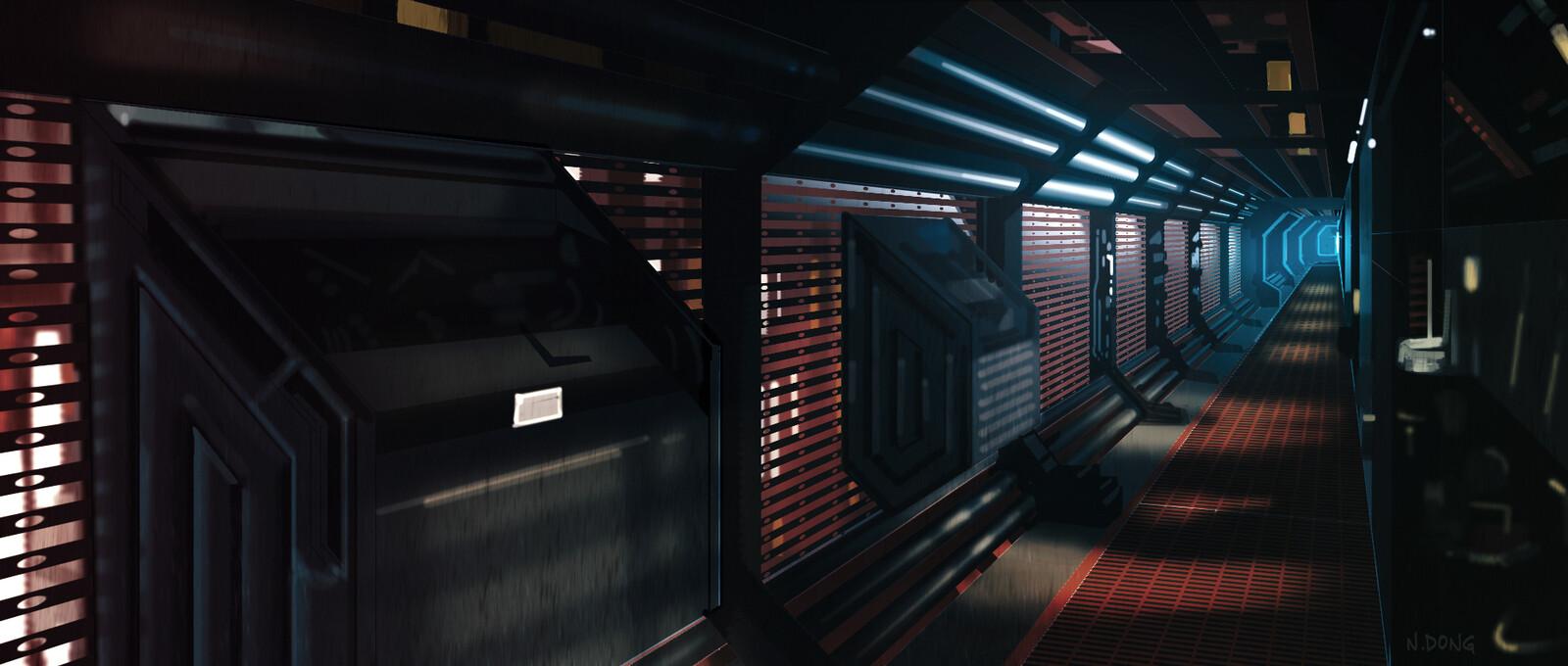 Alien corridor study
