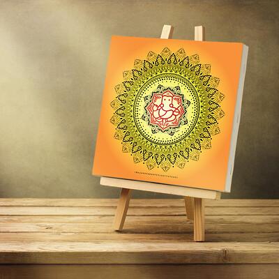 Rajesh r sawant blank canvas1ganesh mandala
