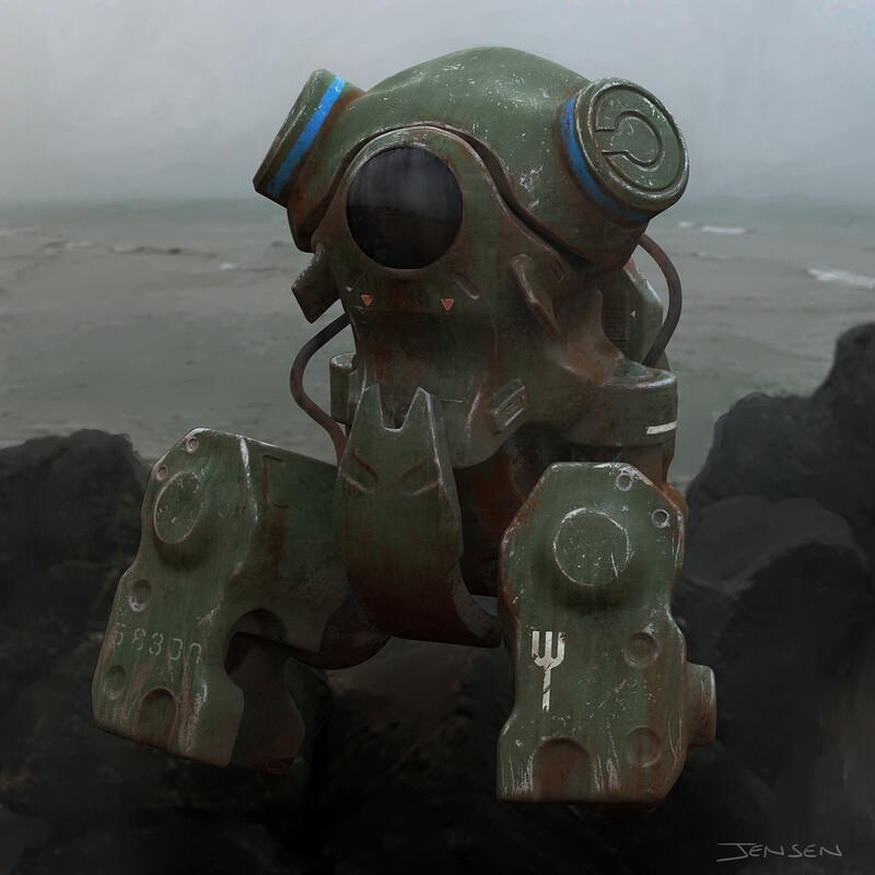 Heavy Submersible Sketch