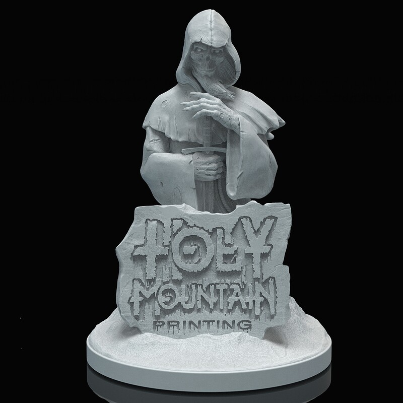 Holy Mountain Printing Collectible