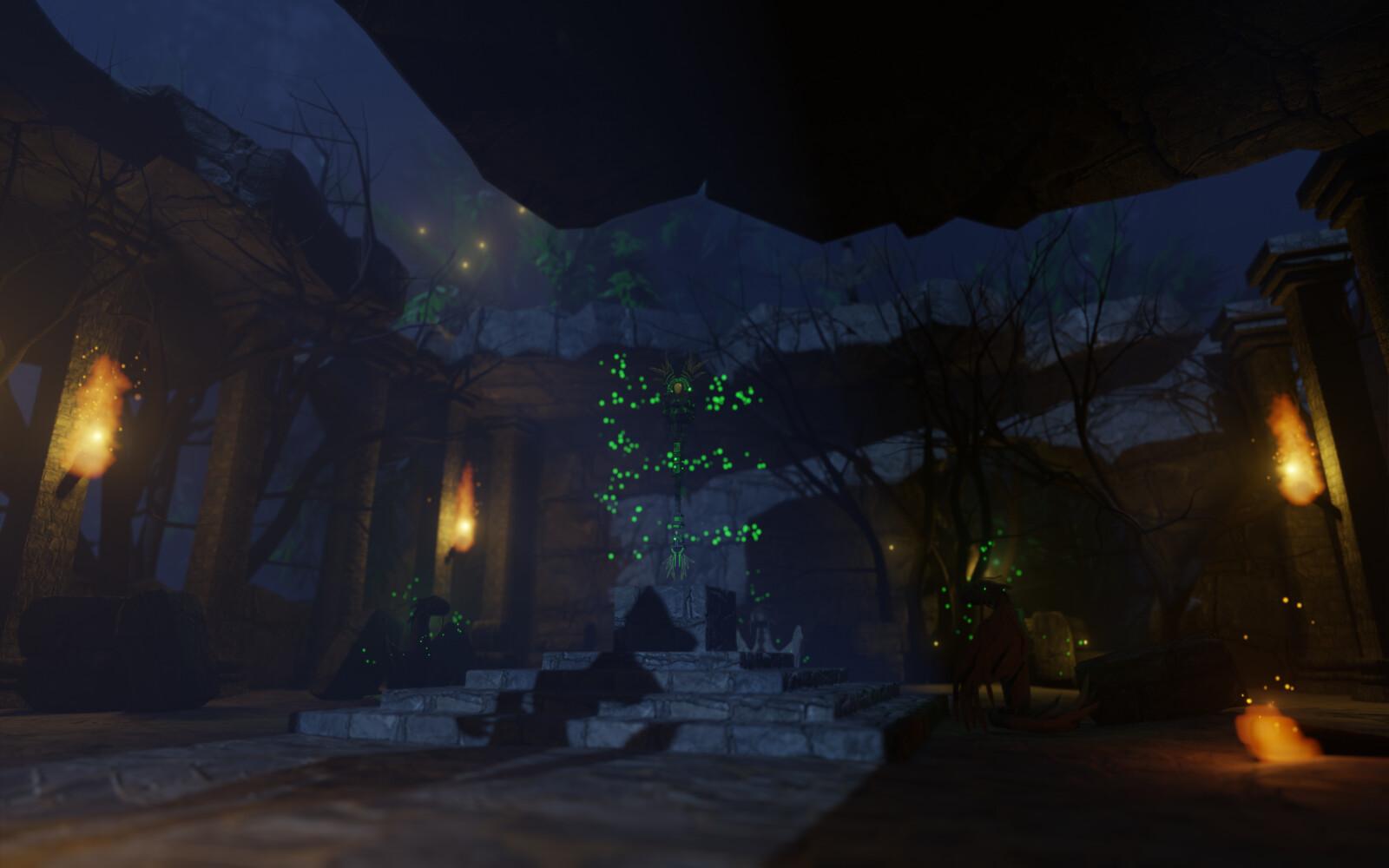 Secret Jungle Temple