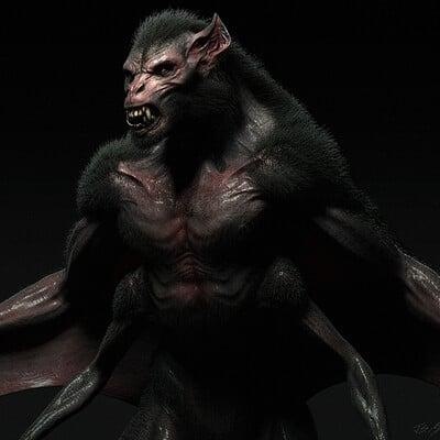 Jerx marantz bat creature conceptart workshop 2623