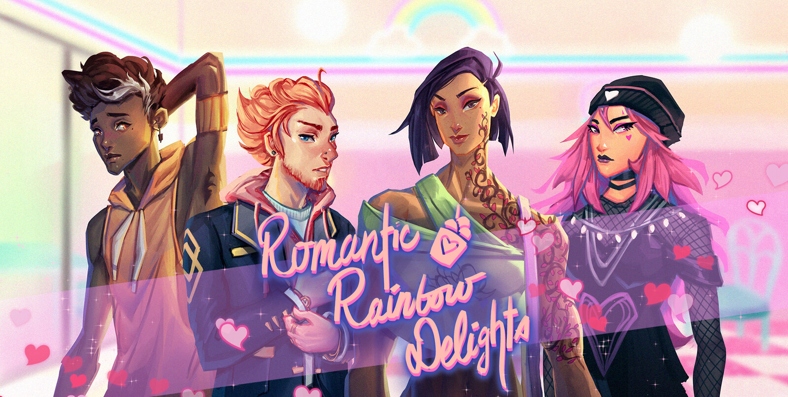 Romantic Rainbow Delights
