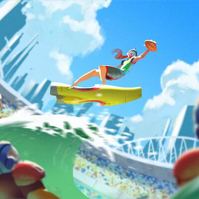 Marcin warzecha surfball keyframe
