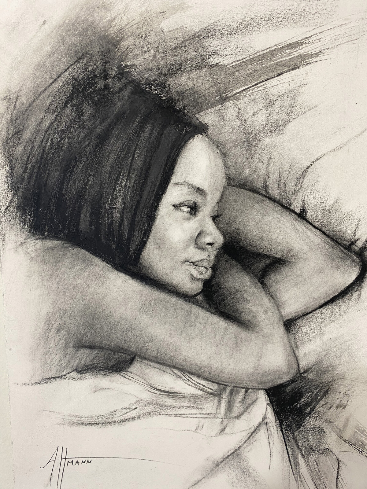 Charcoal Sketch 5. 2020