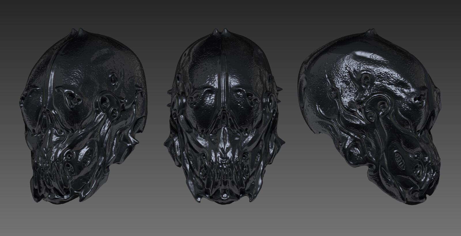 Biomorphosis Helmet 2005