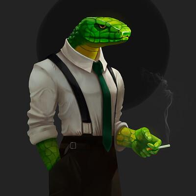 Juan pablo acosta snake character2