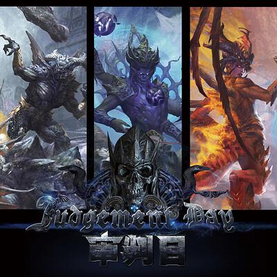 Level2048 arya level2048 arya graduation design judgement day the four horsemen of the apocalypse