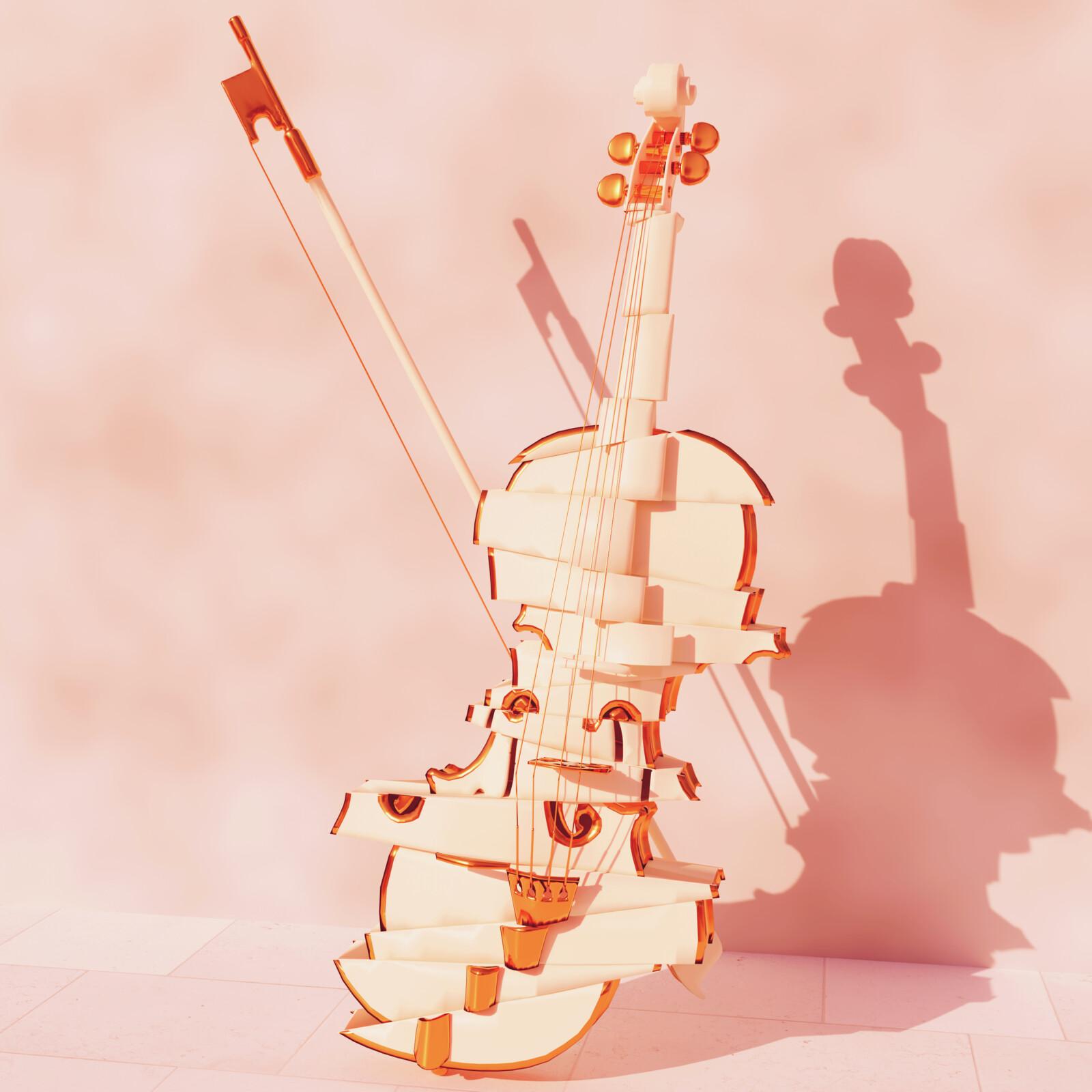 Violin deconstructed
