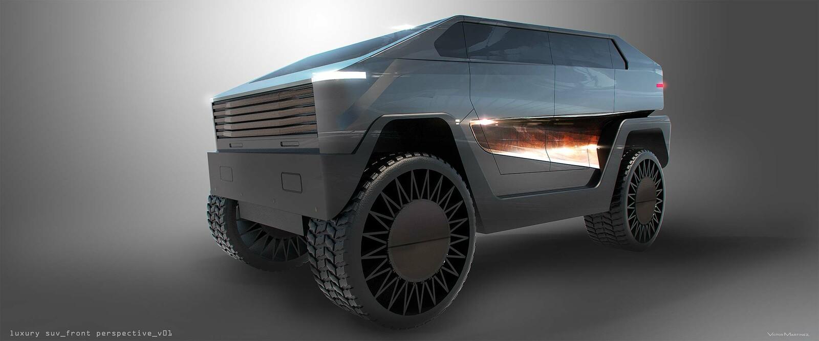 Westworld LUX SUV - designed by Victor Martinez
