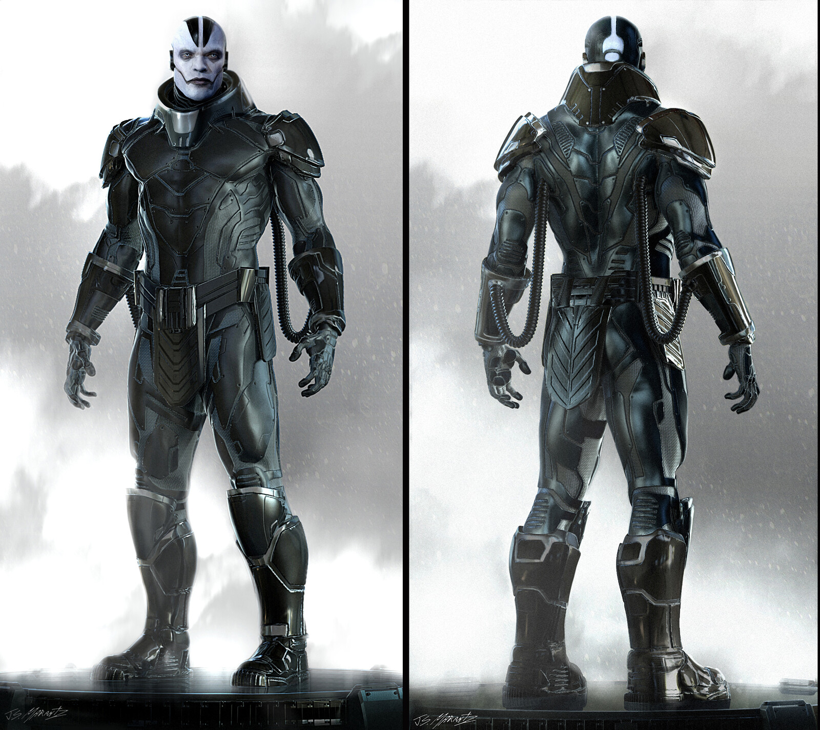 X- Men Age of Apocalypse:  Apocalypse Concept Art