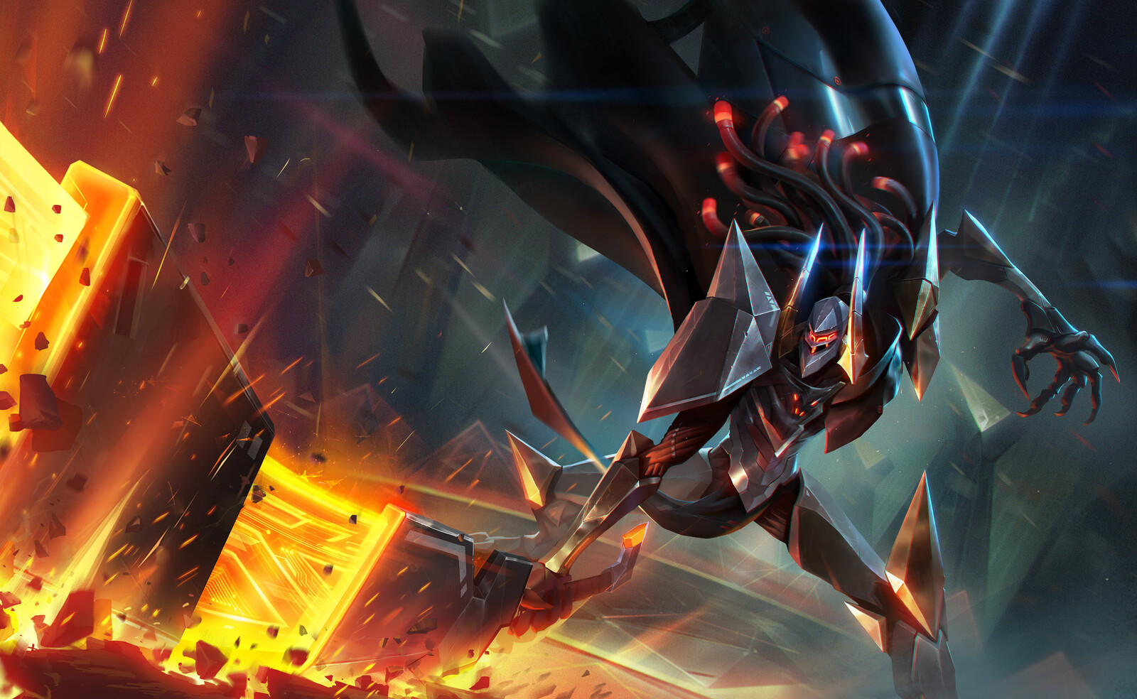 Official splash art, Original by MAR Studio.