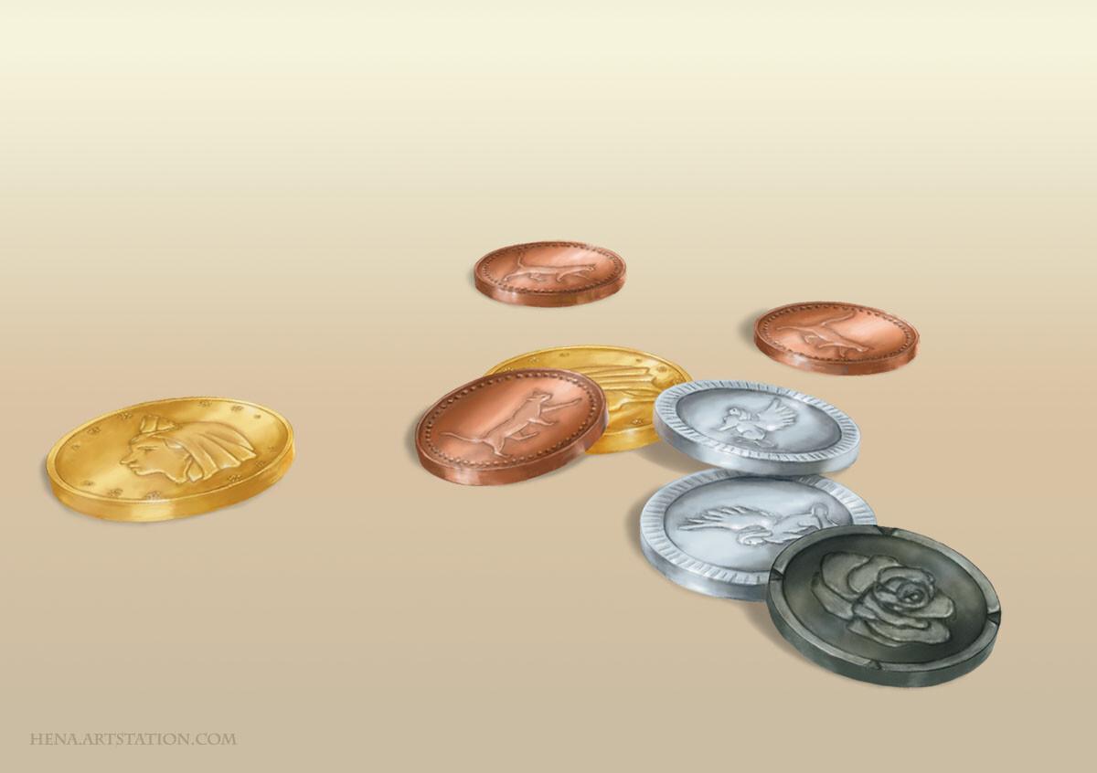 DSA: Aranian Coins
