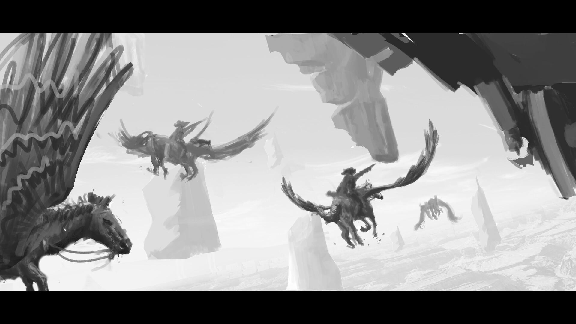 Pegasus-wildwest