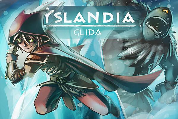 YSLANDIA - Splashscreen for new world/extension