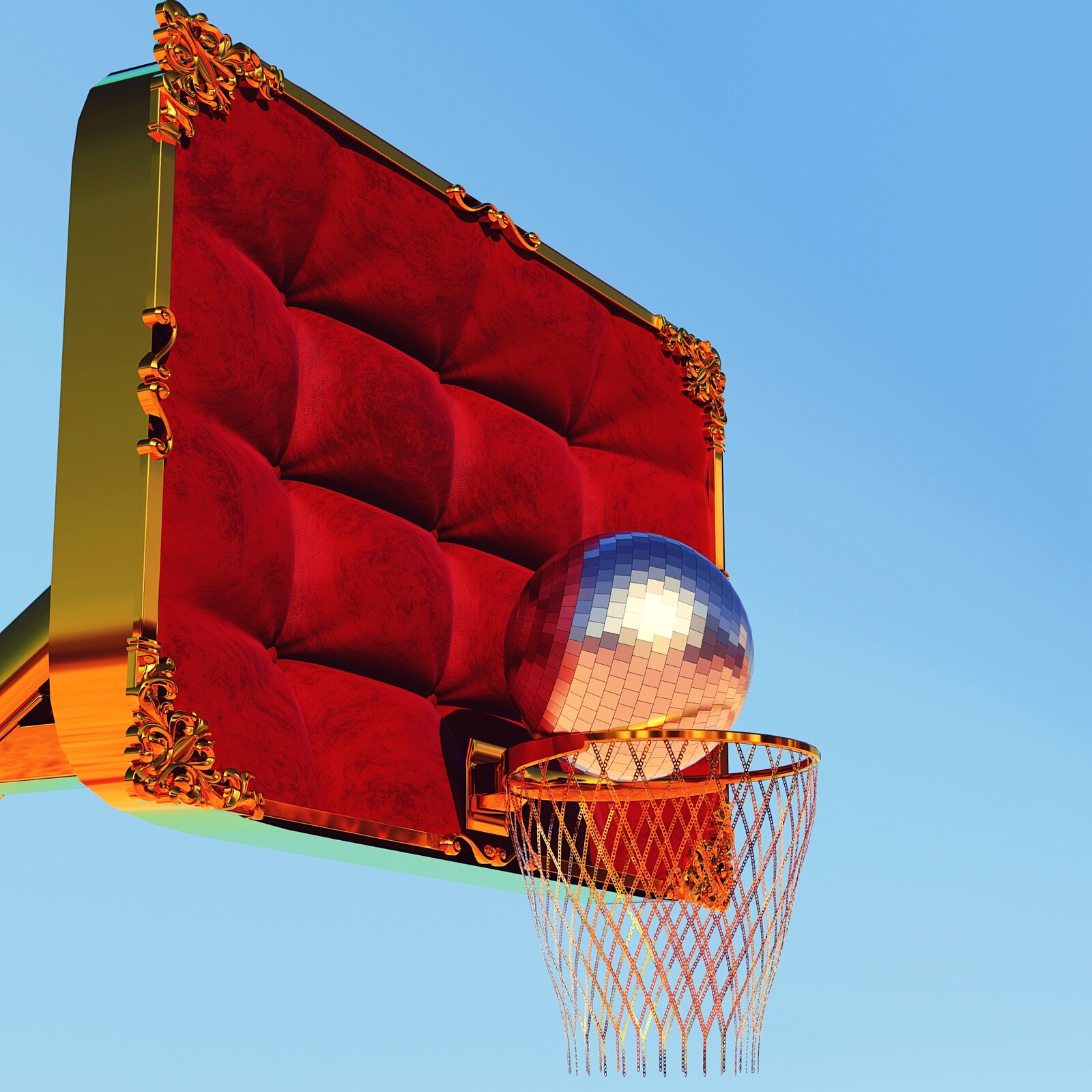 Shooting Hoops in the Hollywood Hills
