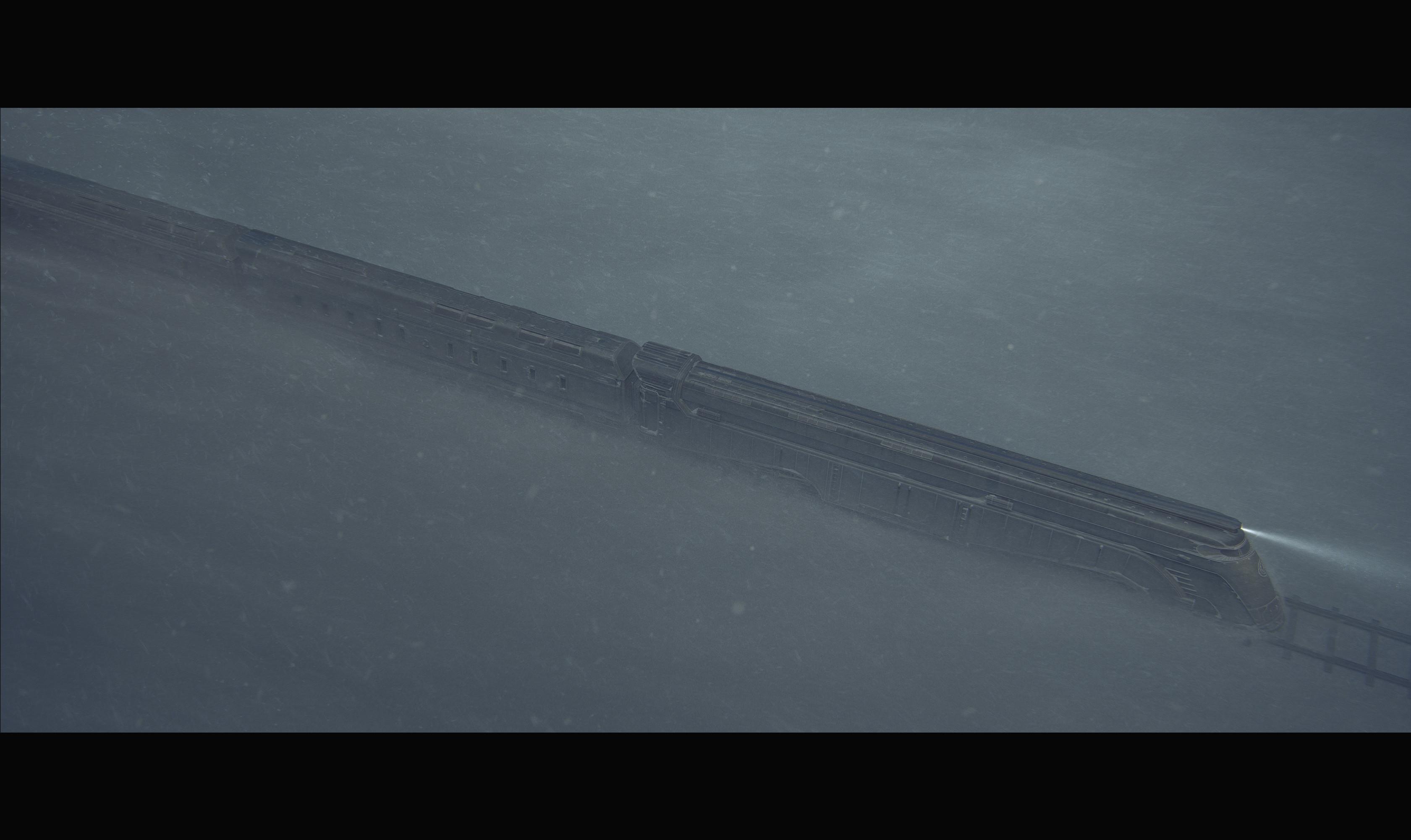 Alex Nice - Snowpiercer Series Train Design