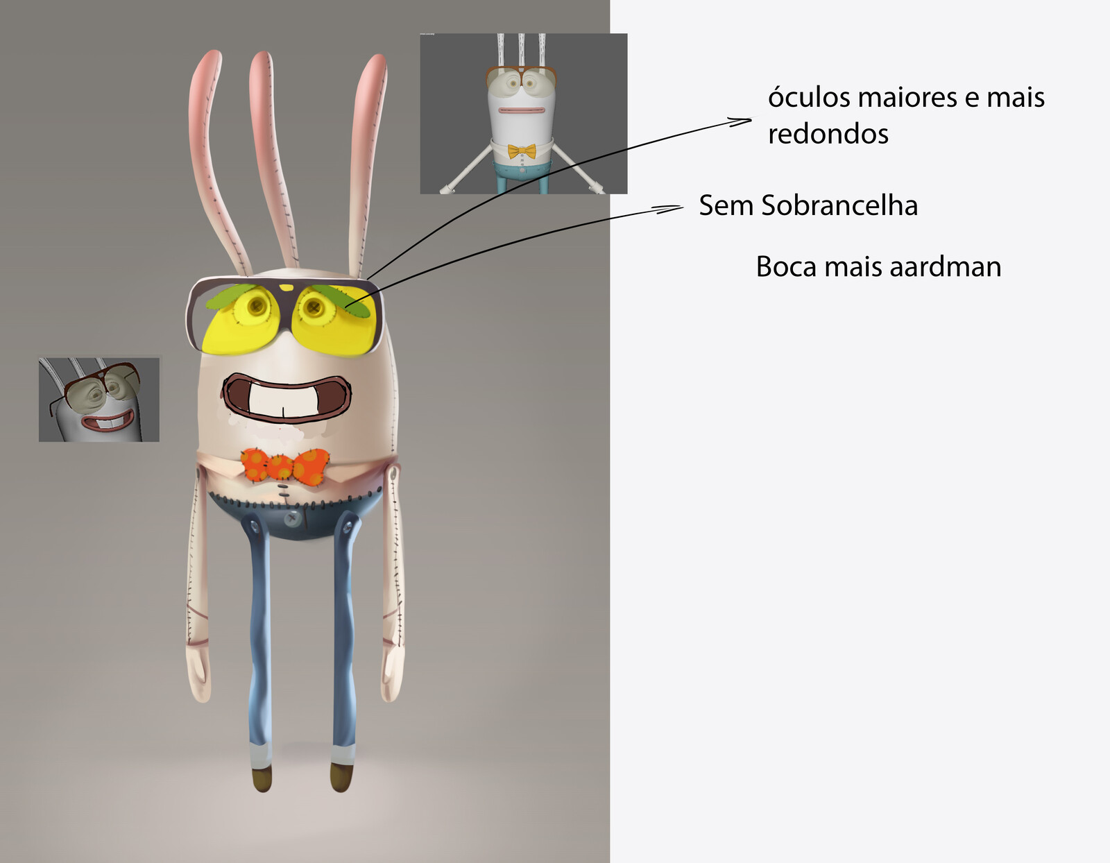 Charlie Doll Concept