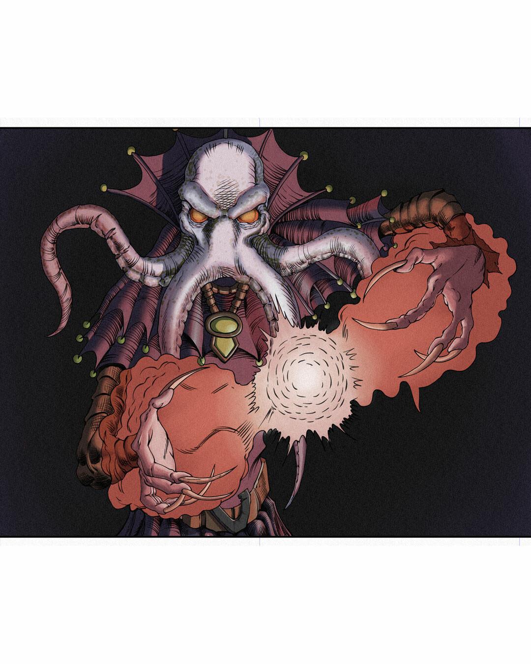 Mindflayer - Illithid - D&D Monster