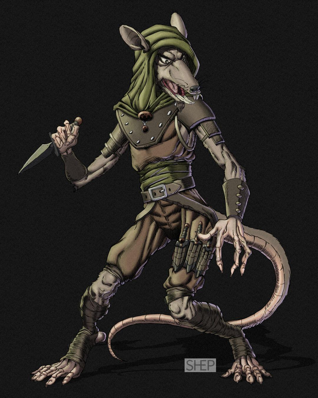 Wererat - D&D Monster