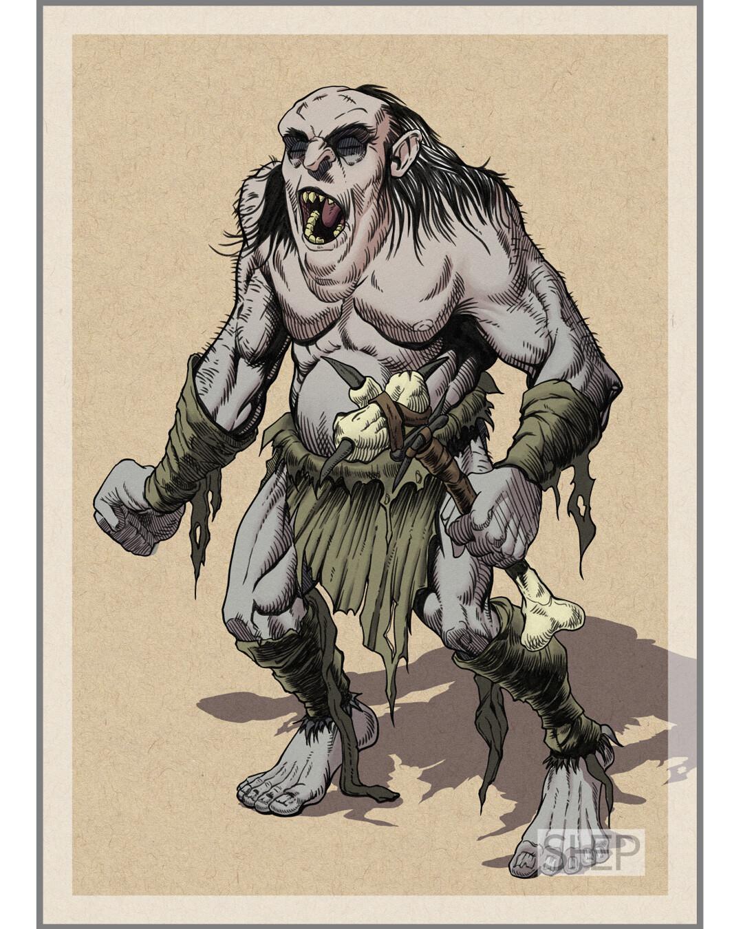 Grimlock - D&D Monster