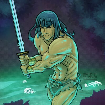 David calderon conan color